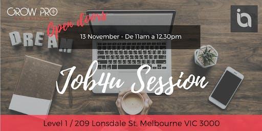 MELBOURNE ! Job4u - CV help