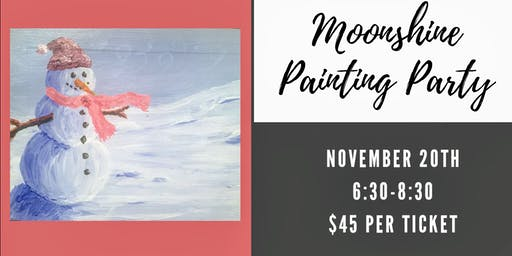 Moonshine Painting Party
