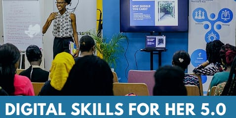 Digital Skills For Her 5.0