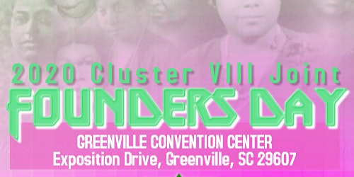 2020 Cluster VIII Founders Day Luncheon