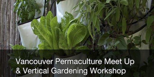 Permaculture Vancouver November Meet-up + Vertical Gardening Workshop