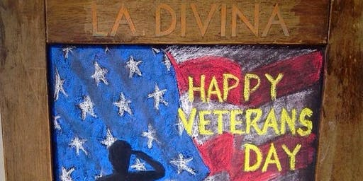 FREE COFFEE for Veterans on Veteran's Day