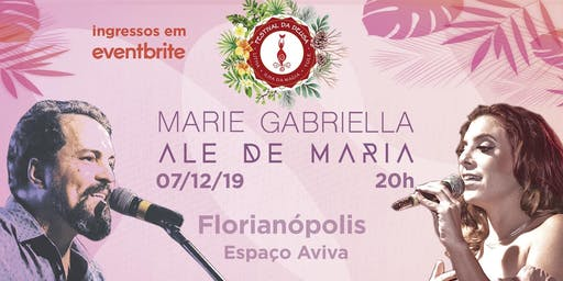 Marie Gabriella e Ale de Maria em Florianópolis