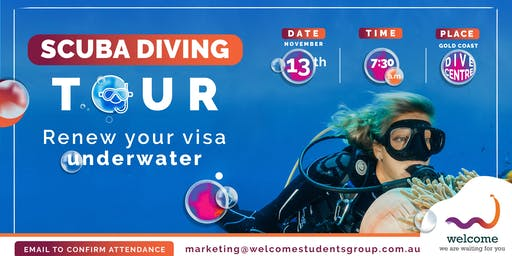 #WelcomeTo Scuba Diving Tour