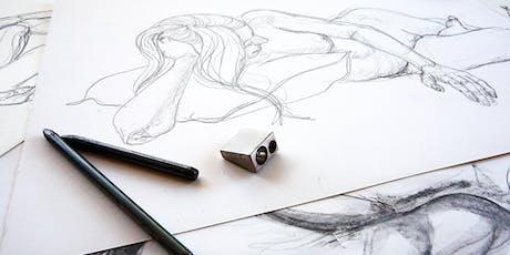 Life Drawing at Artisan tickets
