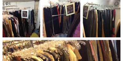 Fia's Thrift Lovers Fill A Bag In The Basement For $35.00- Saturday, November 16 - 12:00pm-8:00pm
