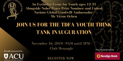 Inauguration of the TDFA Youth Think Tank