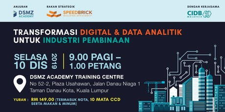 Data Analytics and Digital Transformation  for Construction Industry tickets