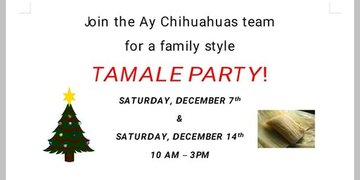 Tamale Party! (Ages 16+)