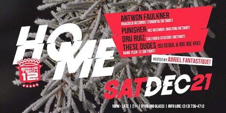Home: W/ Antwon Faulkner, Punisher, Dru Ruiz, These Dudes tickets