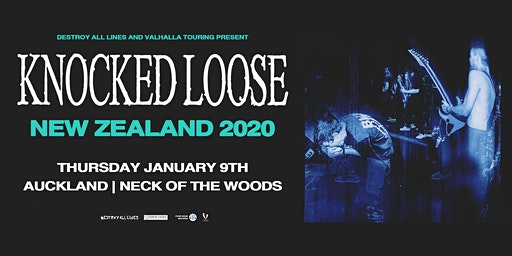 Knocked Loose A Different Shade of Blue Tour - Auckland