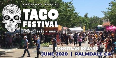 AV Taco Festival tickets