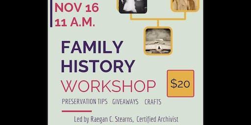 Family History Workshop
