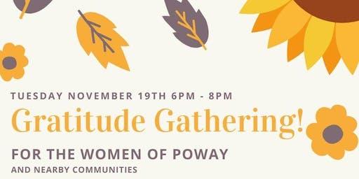 Women of Poway Gratitude Gathering