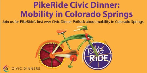 PikeRide Civic Dinner: Mobility in Colorado Springs