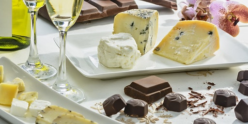 Cheese, Chocolate & Wine Pairing