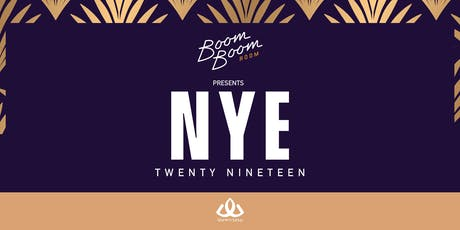 New Years Eve at The Boom Boom Room tickets