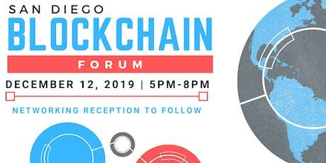 San Diego Blockchain Forum tickets