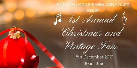 1st annual Christmas and Vintage fair. tickets