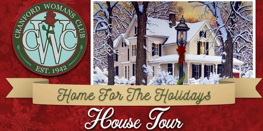 Cranford Woman's Club 30th Annual Home for the Holidays House Tour