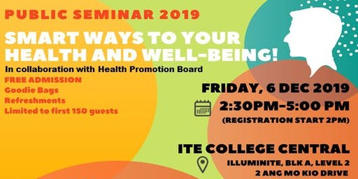 """SMART WAYS TO YOUR WEALTH AND HEALTH!"" PUBLIC SEMINAR 2019"