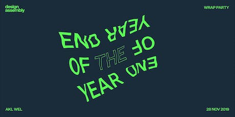Auckland: DA's End of Year Wrap Party 2019 tickets