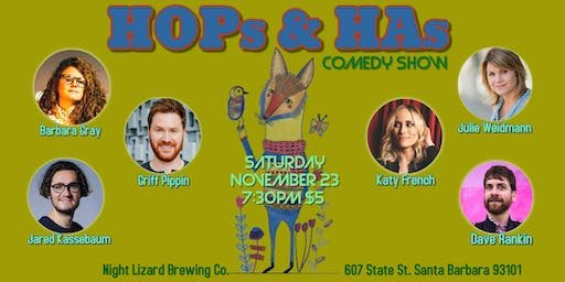 HOPs & HAs comedy show