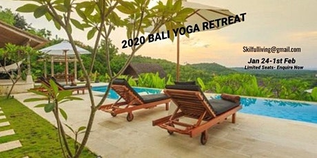 2020 BALI YOGA & PERSONAL DEVELOPMENT RETREAT tickets