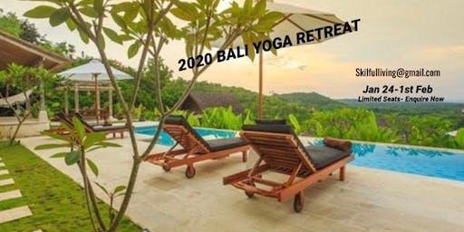 2020 BALI YOGA & PERSONAL DEVELOPMENT RETREAT