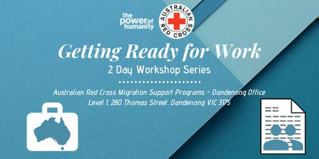Getting Ready for Work Session #1 - Introduction to Australian Workplaces tickets