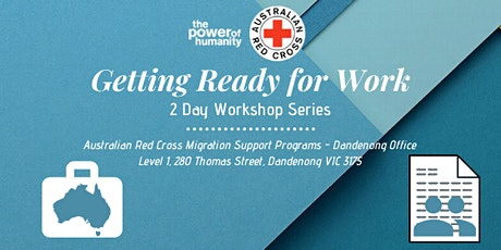 Getting Ready for Work Session #1 - Introduction to Australian Workplaces ingressos
