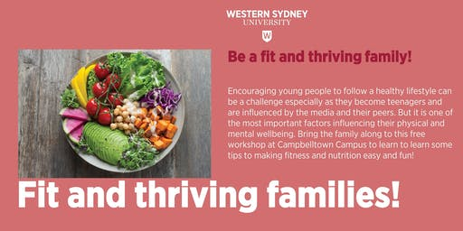 Fit and Thriving Families Workshop @ Western Sydney University