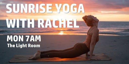 Sunrise Yoga with Rachel, every Monday in November 7am - 8.15am