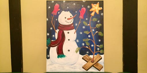 "Sip and Paint - ""Happy Snow"" @ Beerocracy"