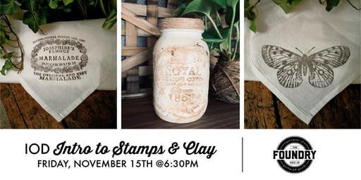 The Foundry - IOD Intro to Stamps & Clay