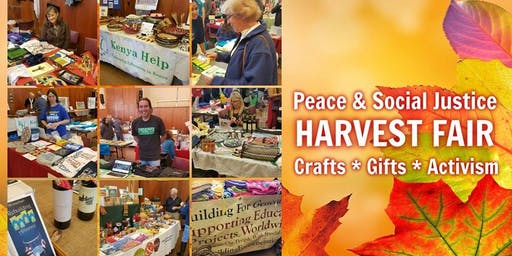 Harvest Peace and Social Justice Craft and Info Fair
