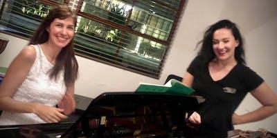 Recital for piano and violin at Cammileri Hall : BCI , USC