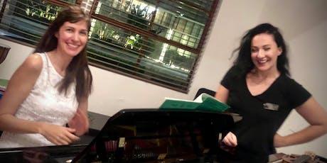Recital for piano and violin at Cammileri Hall : BCI , USC tickets