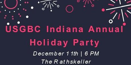 USGBC Indiana's 2019 Holiday Party tickets