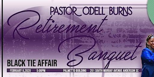 Pastor Odell Burns Retirement Banquet