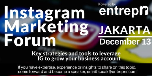 Instagram Marketing Forum (Jakarta)