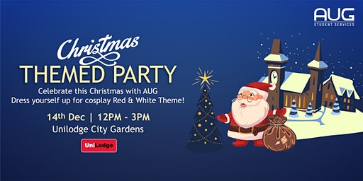 AUG Christmas Themed Party