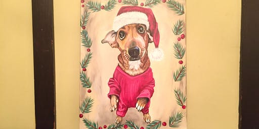 Sip and Paint Night - Holiday Paint Your Pet @ Beerocracy