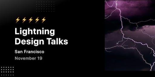 Lightning Product Design Talks