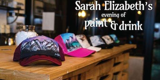Paint & Drink: Paint Your Own Trucker Hat!
