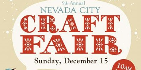 Nevada City Winter Craft Fair 2019 tickets