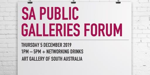 SA Public Galleries Forum 2019
