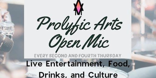 Prolyfic Arts Presents: Open Mic