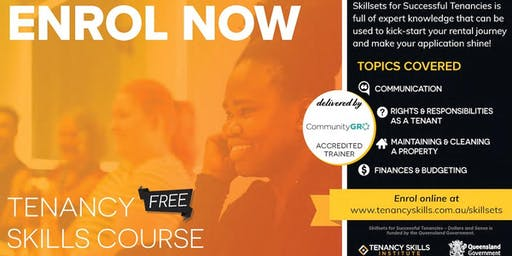 Townsville Tenancy Skills Course