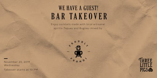 Proudly Promdi Bar Takeover at Three Little Pigs